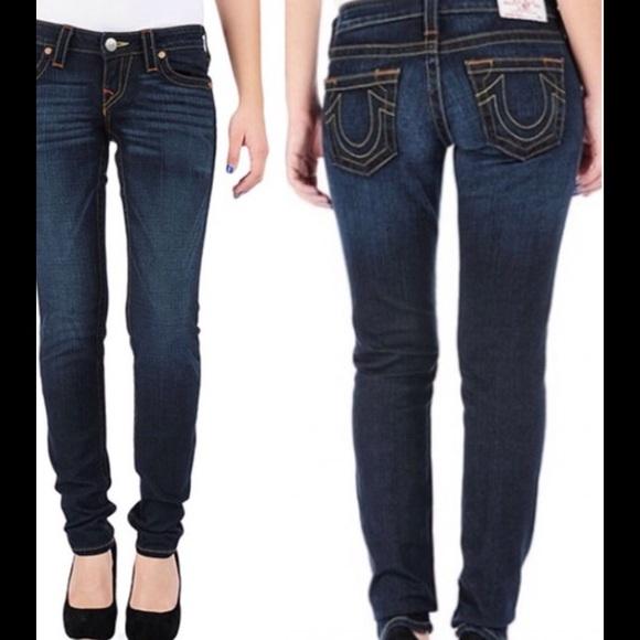 e05eb0bab 🍂PRICE DROP🍂TRUE RELIGION Stella Skinny Jeans. M 58036884a88e7d9bca086d24