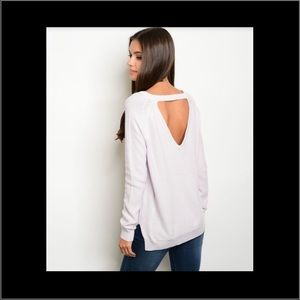 HOLIDAY SALELight orchid knit sweater