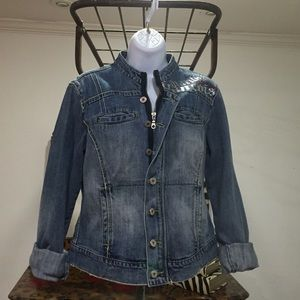 Marithe Francois Girbaud Denim Jacket-Sz L
