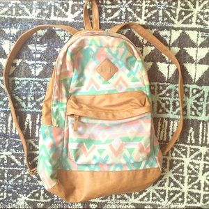 Gorgeous tribal inspired ALDO backpack