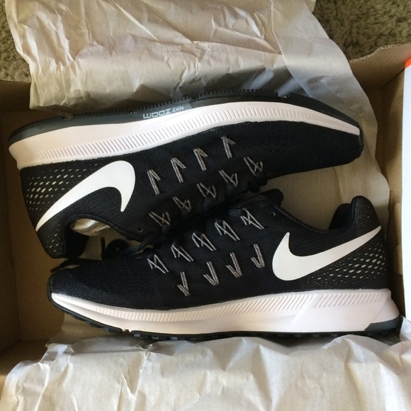 Women s Nike Air Zoom Pegasus Black Running Shoe b0d1eccc93