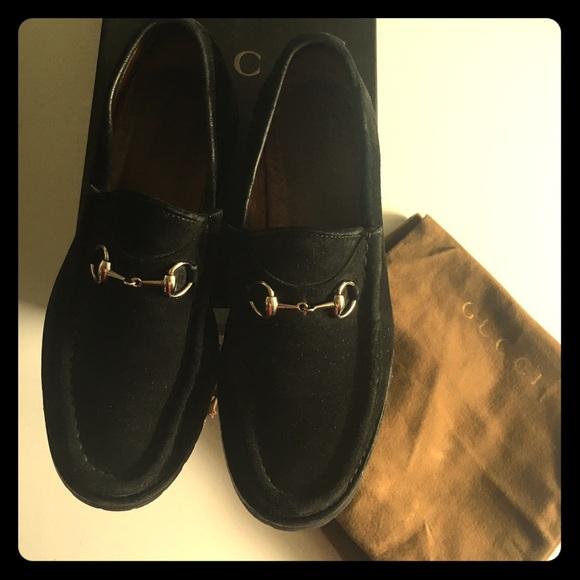 9663b062a08 Gucci Shoes - ♤️VINTAGE Gucci Horsebit Suede Loafers♤️