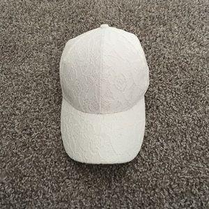 White Lace Cap