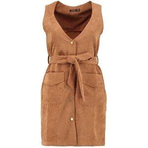 Boohoo Dresses - ✌🏽️Corduroy Wrap Dress ✌🏽️