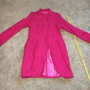 Jackets & Blazers - WINTER IS COMING!!! Vintage Hot pink pea coat