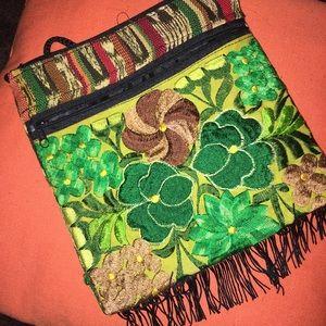 Handmade Handbags - Embroidered Handmade Crossbody Bag