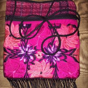 Handmade Handbags - New Crossbody Handmade Mexican Crossbody Bag