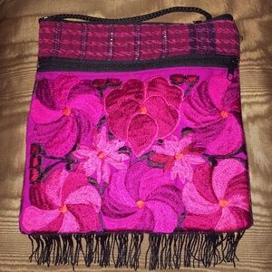 Handmade Handbags - New Embroidered Handmade Mexican Crossbody