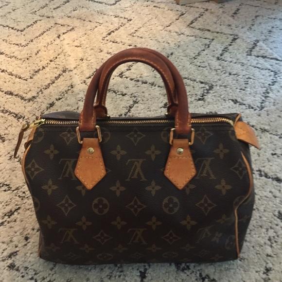 0c4e45adab8 Louis Vuitton classic Speedy 25 bag