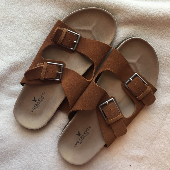 a4036e07bd89 American Eagle Outfitters Shoes - American Eagle Outfitters Faux  Birkenstocks