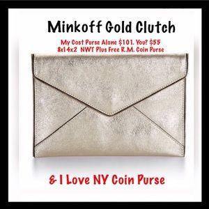 Rebecca Minkoff Handbags - 💲50%Off💞REBECCA MINKOFF LARGE Clutch