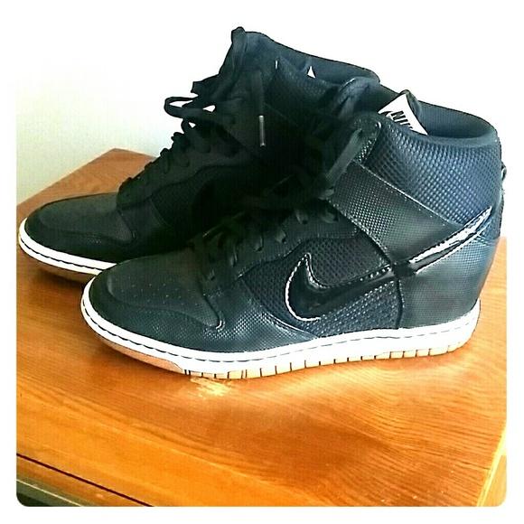 Nike Dunk Sky Hi Essential High Top Wedge Sneakers.  M 57f7f894c6c795b76d00d78c 8bfb4e1296af