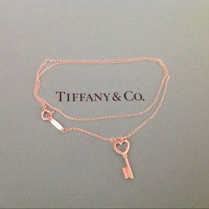 Tiffany & Co. Jewelry - Tiffany & Co. Heart Key Necklace