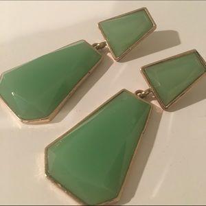 CindyLBB Jewelry - 🎍 Jade Green Drop Earrings 🎍