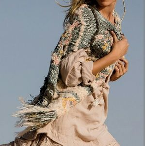 Free People Jackets & Blazers - NWT Free People rag rug knit vest.