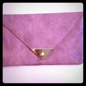 ASOS Clutch-Purple/LilacSnakeSkin Clutch-BRAND NEW