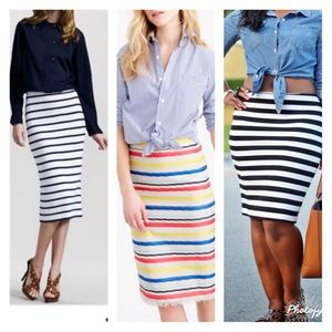 Dresses & Skirts - 🆑sale 🆑 STRIPED SKIRT