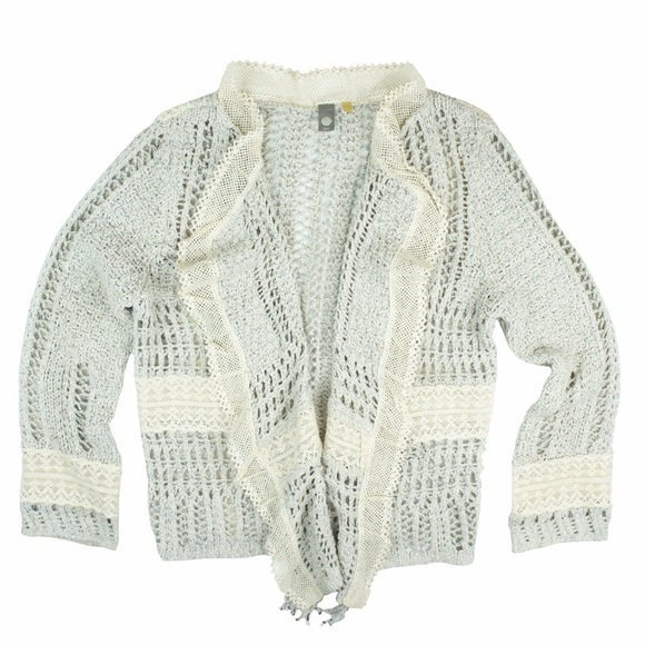 75% off Anthropologie Sweaters - ANTHROPOLOGIE Crochet & Lace ...