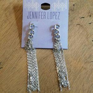 Jennifer Lopez Jewelry - Jennifer Lopez Silver Earrings