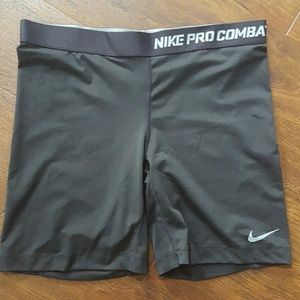 Nike dri-fit compression shorts