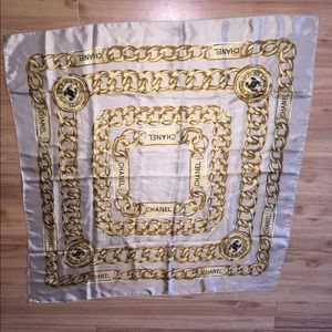Chanel square scarf
