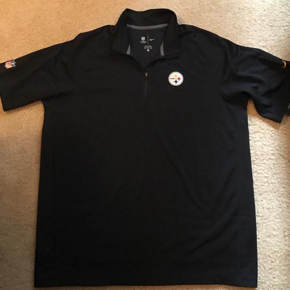 3532777c8 Nike Shirts | Mens Xl Pittsburgh Steelers Polo Nwt | Poshmark