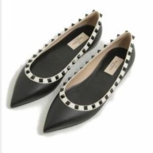 Valentino Shoes - SALE‼️Rock-Stud Flats