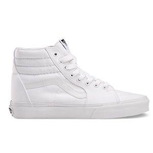 Vans Shoes | White Van Skate Highs