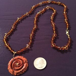 Necklace Victorian Collection Rose Necklace
