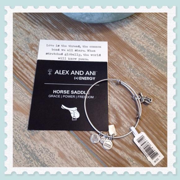 d2548527093504 Alex and Ani Jewelry | Horse Saddle Ii Charm Bangle | Poshmark