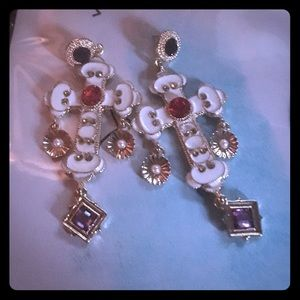 Betsey Johnson Jewelry - Beautiful Betsey Johnson earrings, NWOT!