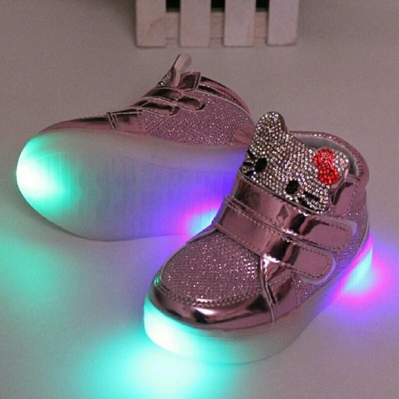 hello kitty led shoes