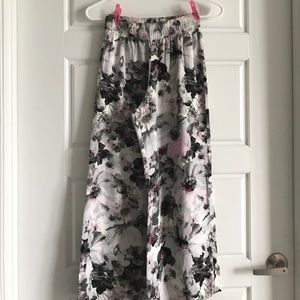 abercrombie kids Other - Abercrombie Kids Wide Leg Floral Pants
