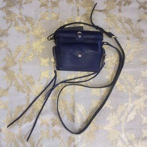 AUTHENTIC Rebecca Minkoff blue crossbody bag