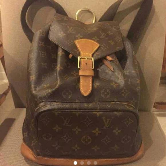1b990d00521f Louis Vuitton Handbags - Louis Vuitton Monogram Montsouris GM backpack