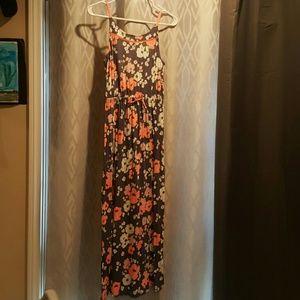 California Poppy Maxi Dress