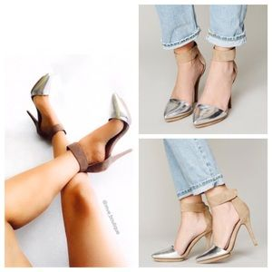 Jeffrey Campbell Solitaire Pointed Pumps