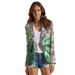 Clover Canyon Jackets & Blazers - Clover Canyon How High Sequin Blazer