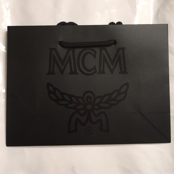 MCM - NWT MCM Elegant Black Shopping Bag w/Rope Handles from ...