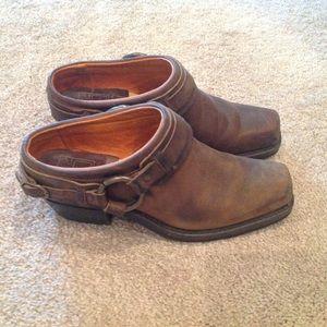 Frye Shoes - FRYE Harness Mules