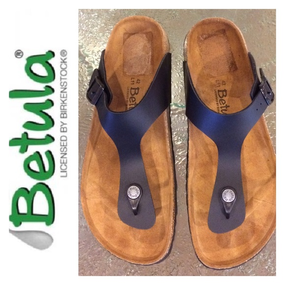 Betula by Birkenstock Rap Black Thong Sandal