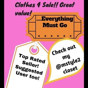 Other - ❗❗SALE! 🎉Closet Clearout❗❗