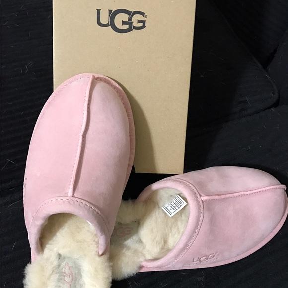 Ugg Pearle Scuff Pink Slippers b984f1e56