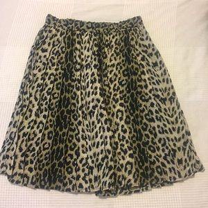 Forever 21 Cheetah Print Skirt