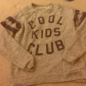 Mighty Fine Sweaters - Cool kids club Crewneck