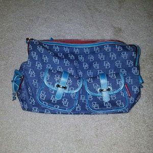 Dooney & Bourke Handbags - *PRICE FIRM* Dooney & Bourke sig. denim handbag