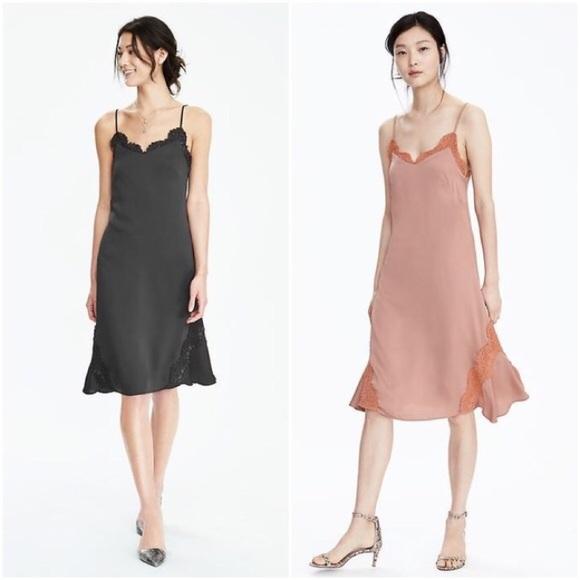 5fb61685d40bf Banana Republic Dresses   Lace Lingerie Slip Dress   Poshmark