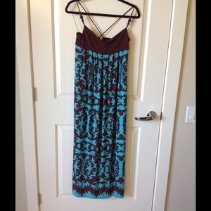 Donna Morgan High bodice knit maxi dress. NWOT