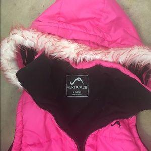 verticle 9 Jackets & Coats - Verticle 9 XL hot pink faux fur vest