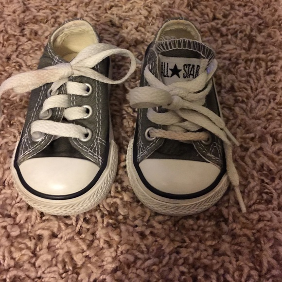 e63425b830d0f1 Converse Other - Baby Converse. Size 2. Greenish gray color.